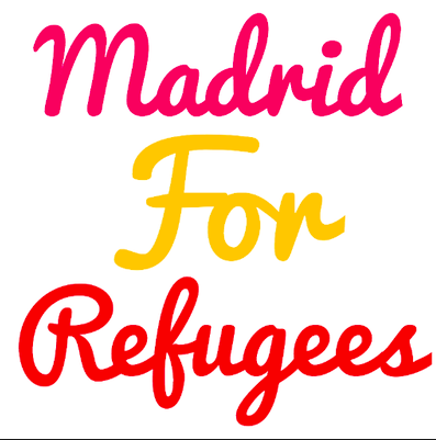 Madrid for Refugees logo