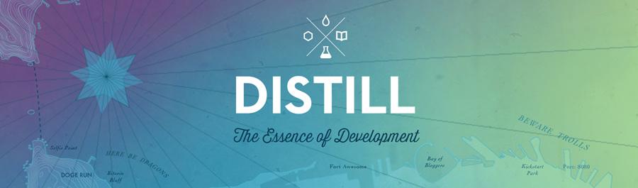Distill banner