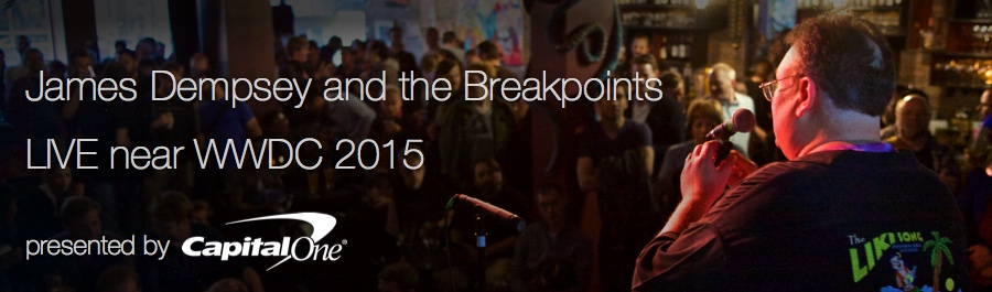 James Dempsey and the Breakpoints LIVE near WWDC 2015