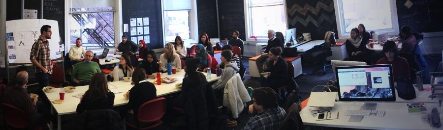 Lab Lunch 1/14 with Scrappers Film Group