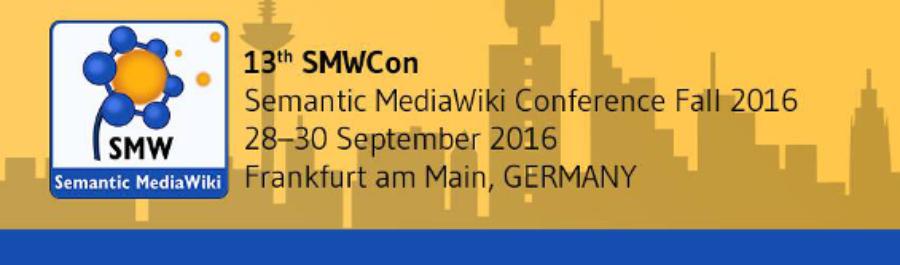 SMWCon Fall 2016 Frankfurt am Main, Germany