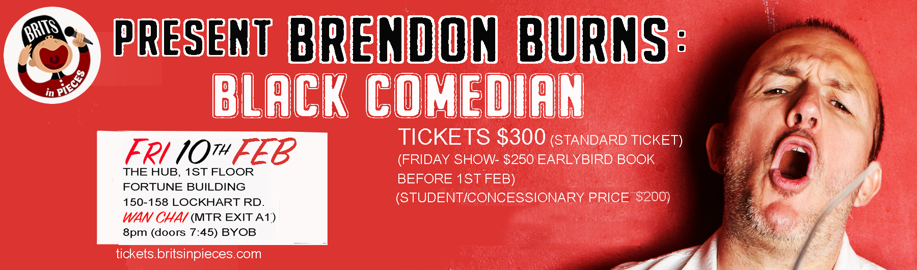 Brendon Burns: Black Comedian