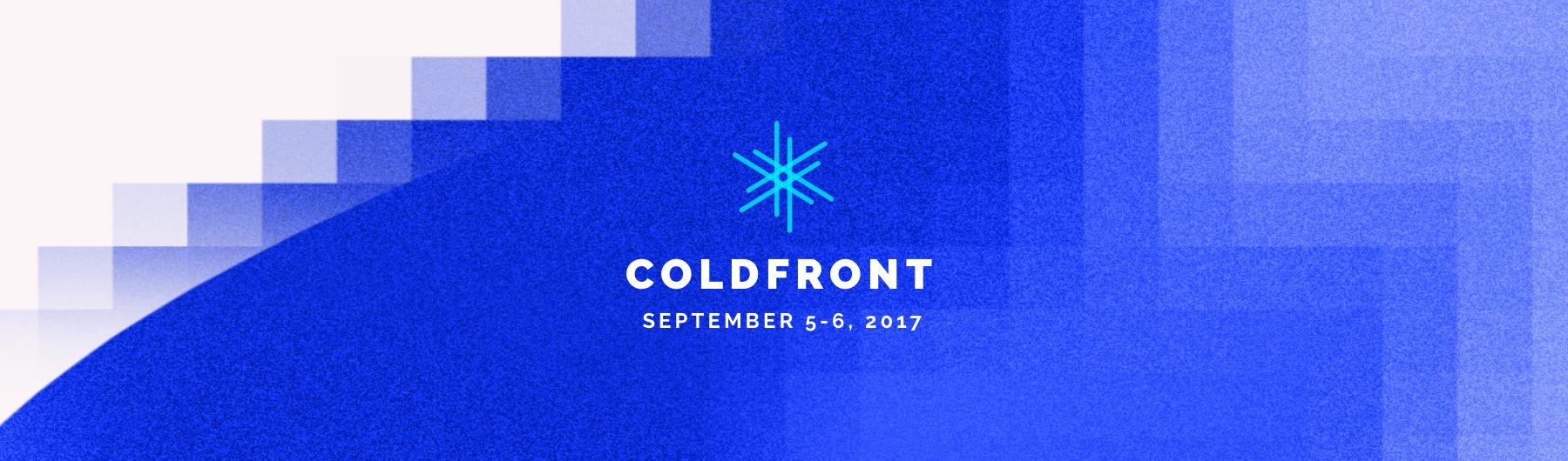ColdFront 2017