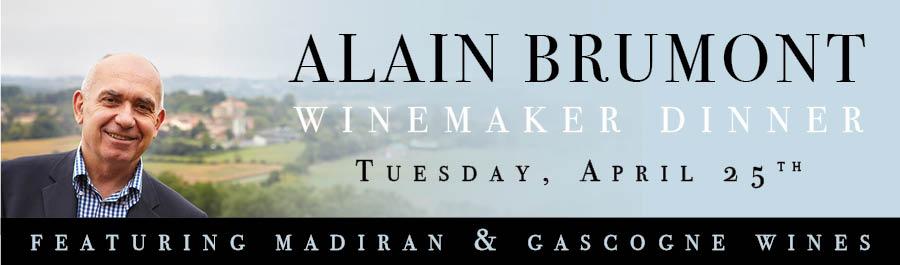 Alain Brumont Winemaker Dinner