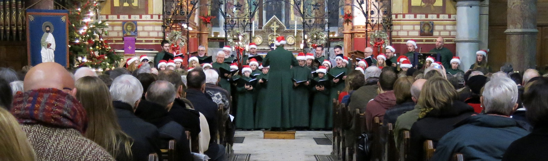 Concert of Carols and Festive Readings (Saturday)