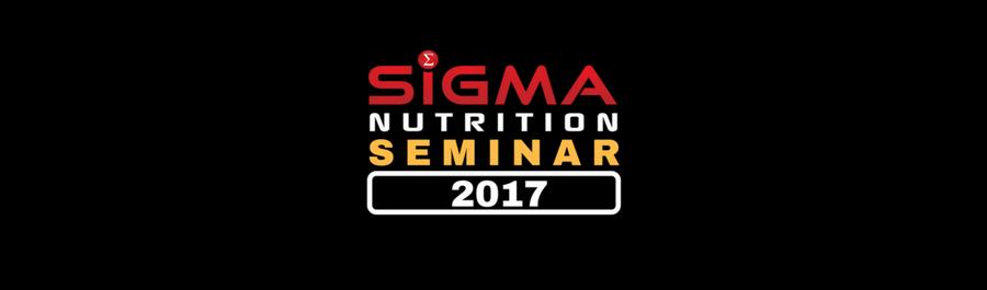 2017 Sigma Nutrition Seminar- DUBLIN