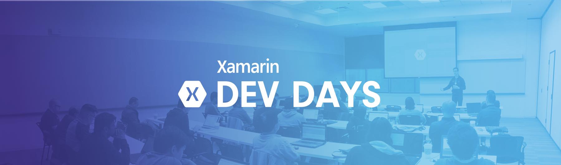 Xamarin Dev Days - Singapore