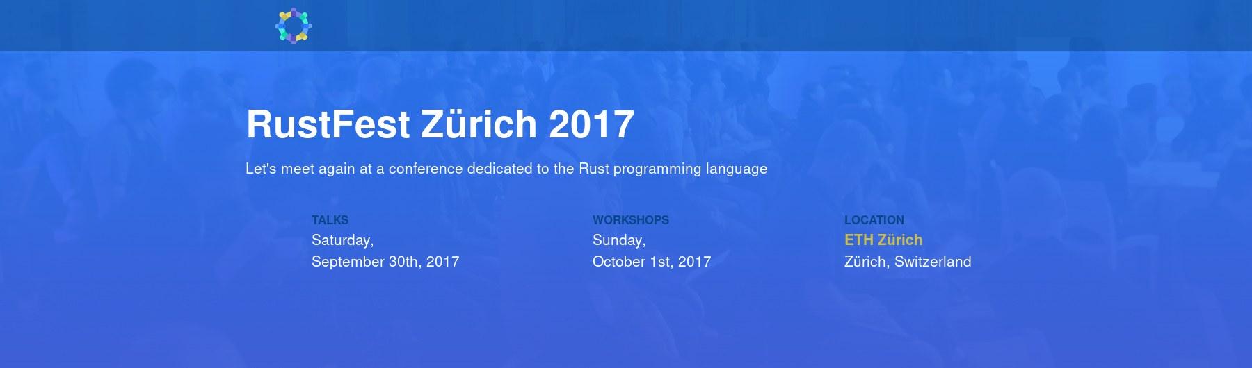 RustFest Zürich