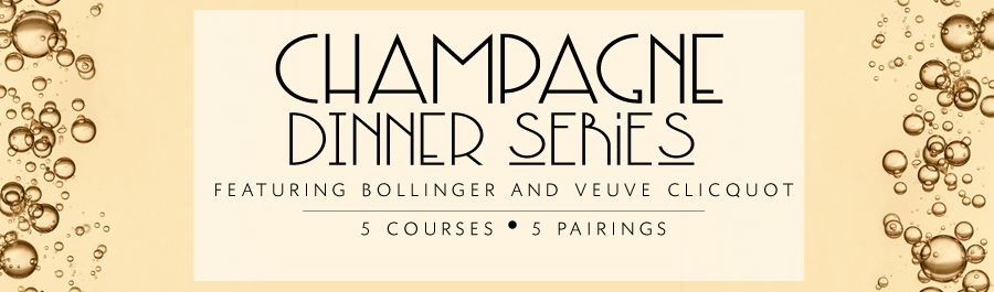Champagne Dinner Series at Bacchus