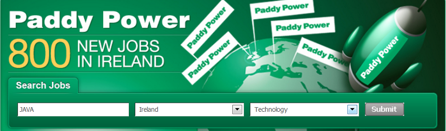 Paddy power jobs
