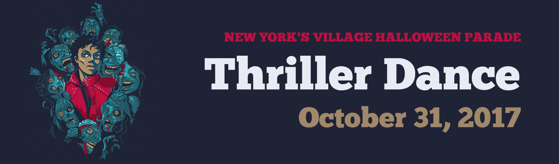 Thriller Dance at the Village Halloween Parade