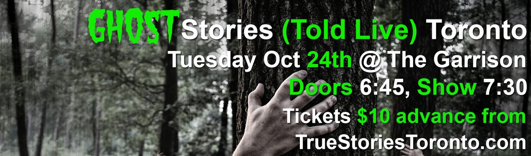 Ghost Stories Toronto 2017