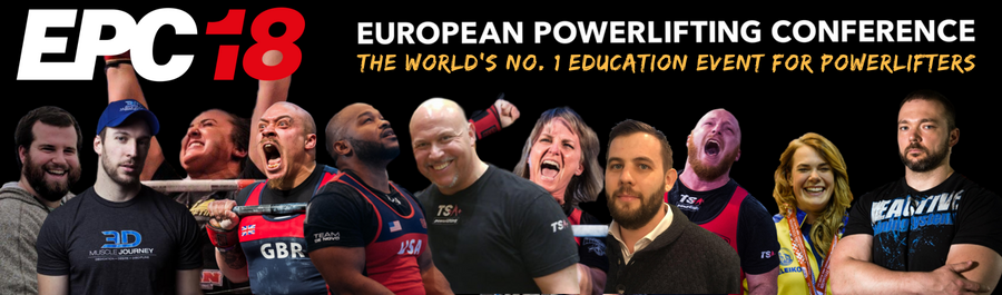 European Powerlifting Conference 2018