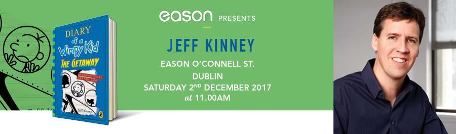 Eason O'Connell Street, Dublin Presents : Jeff Kinney