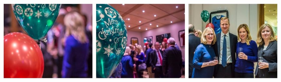 2017 Trinity Business Alumni Christmas Drinks Reception