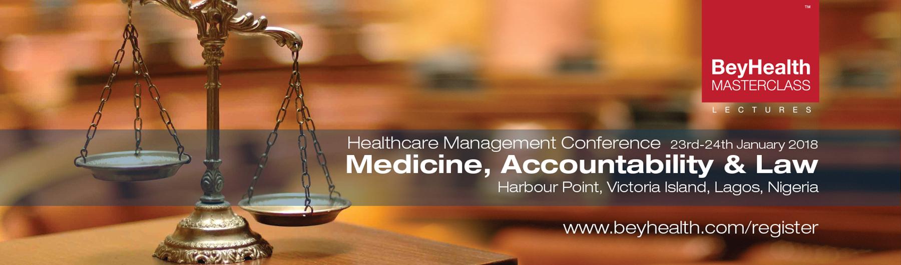 Medicine, Accountability  & Law 2018