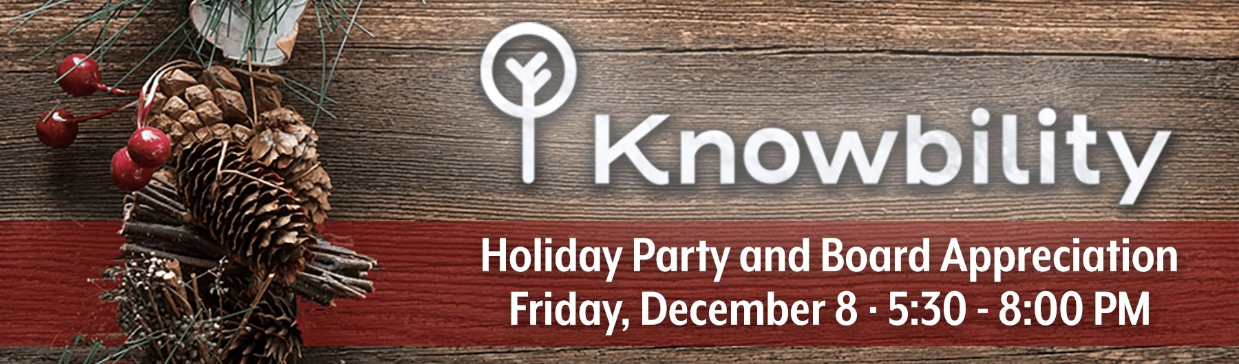 Knowbility Board Appreciation & Holiday Party 2017