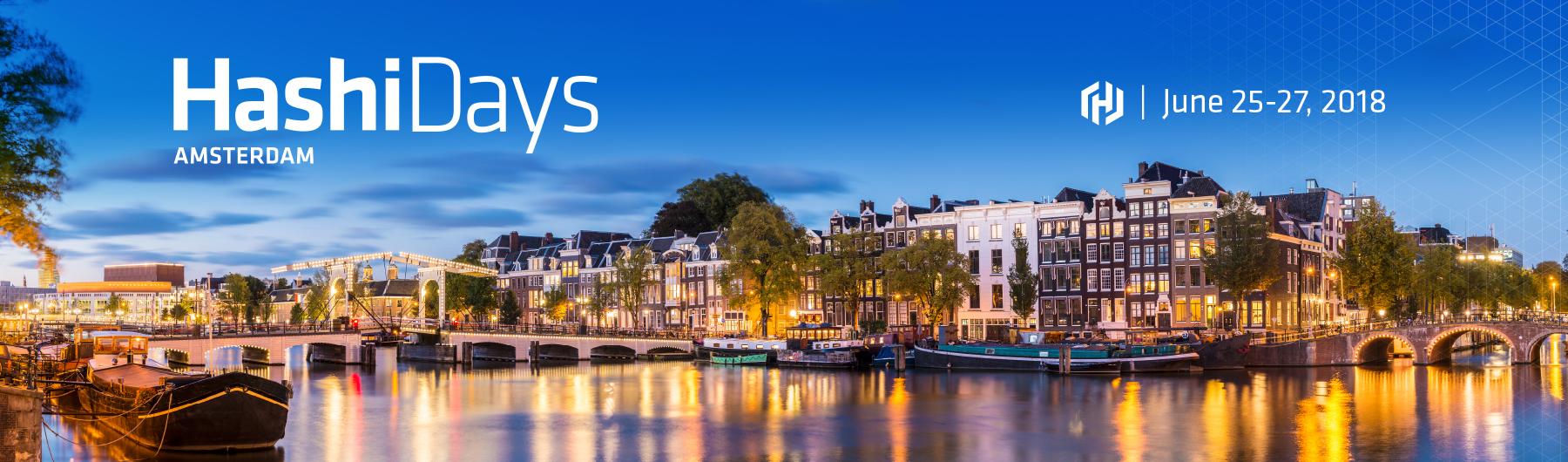 HashiDays Amsterdam 2018