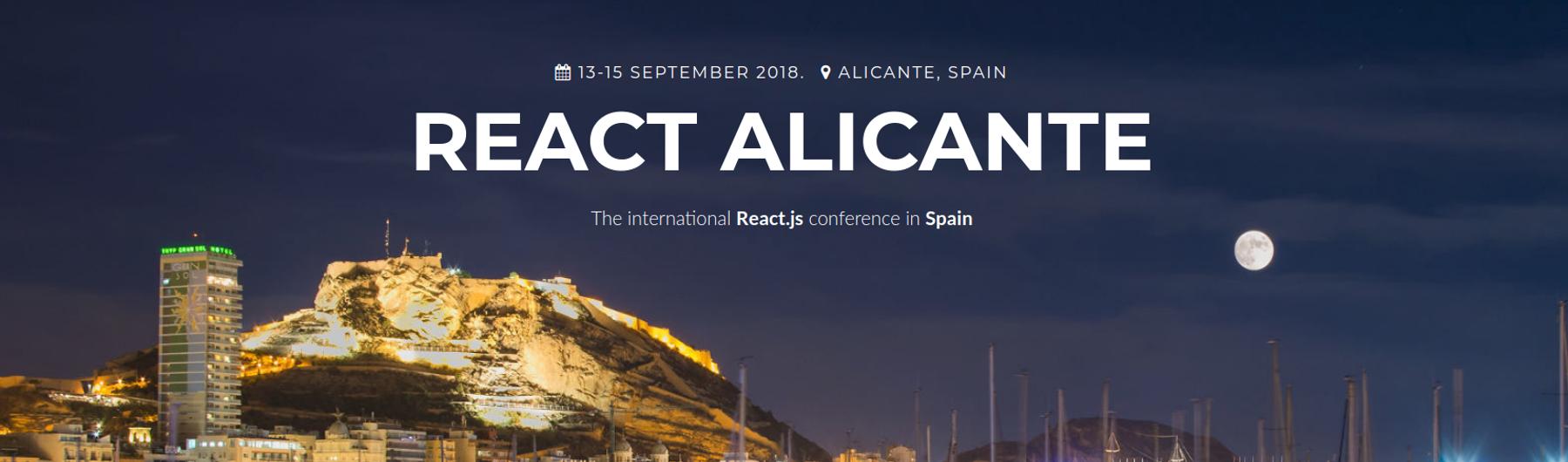 React Alicante 2018
