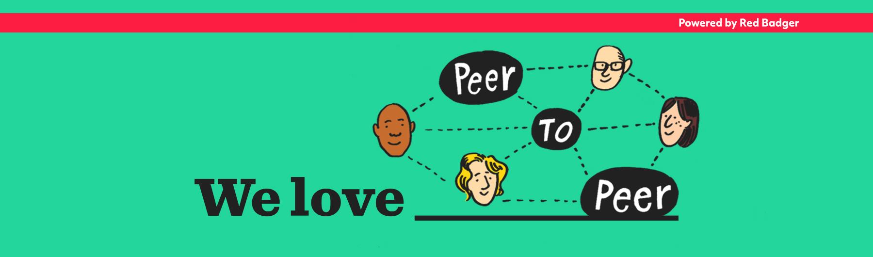 We love peer to peer web