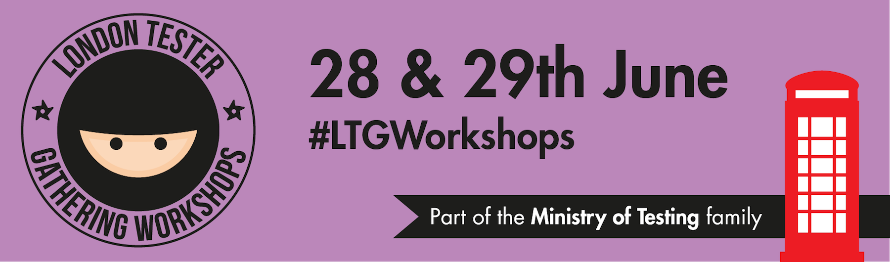 London Tester Gathering Workshops 2018