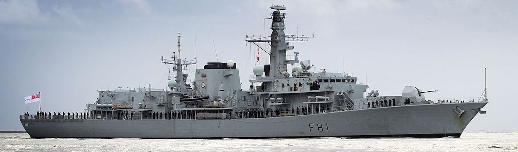HMS Sutherland Tour
