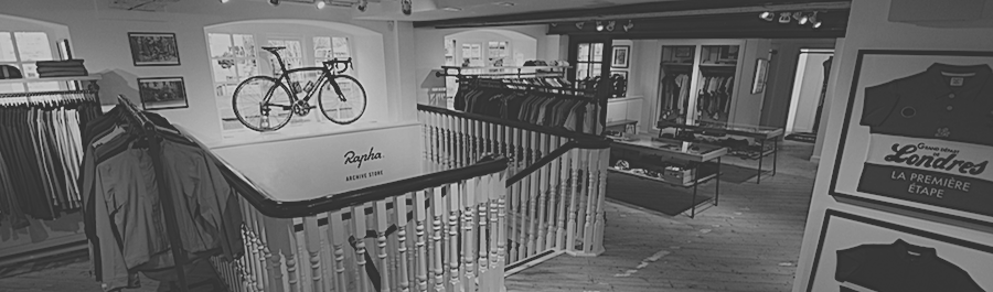 Taylored Cycles at the Rapha Archive Store