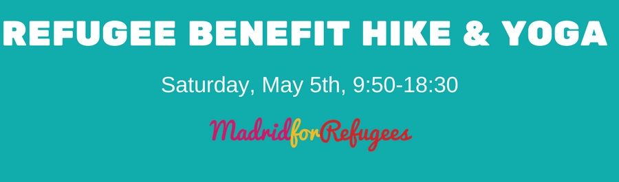 Refugee Benefit Hike and Yoga- May 5