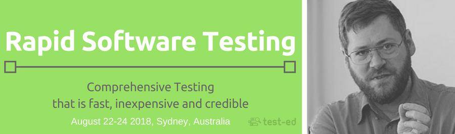 Rapid Software Testing