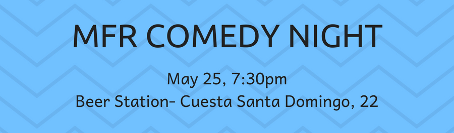 MFR Benefit Comedy Night May 25th