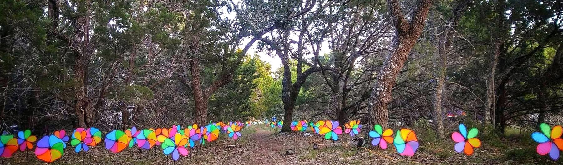Austin Radical Faerie Camp 2018