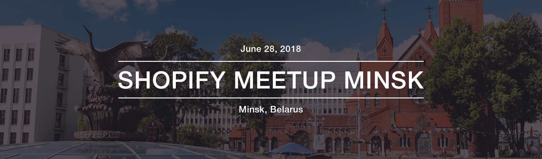 Shopify Meetup Minsk