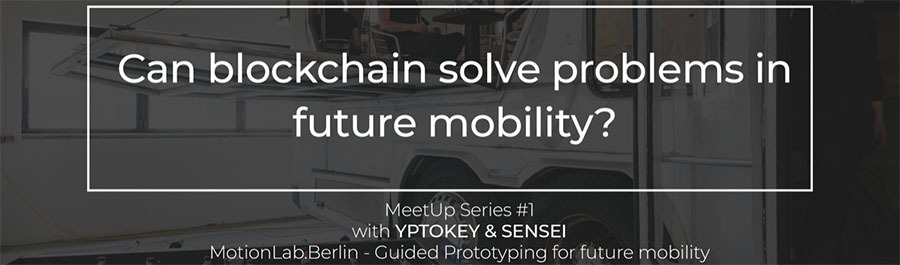 Discussion panel: Can blockchain solve problems in future mobility?