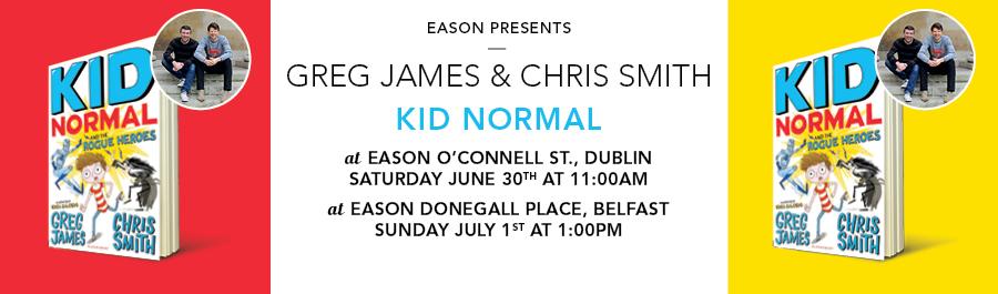 Eason Presents : Greg James & Chris Smith