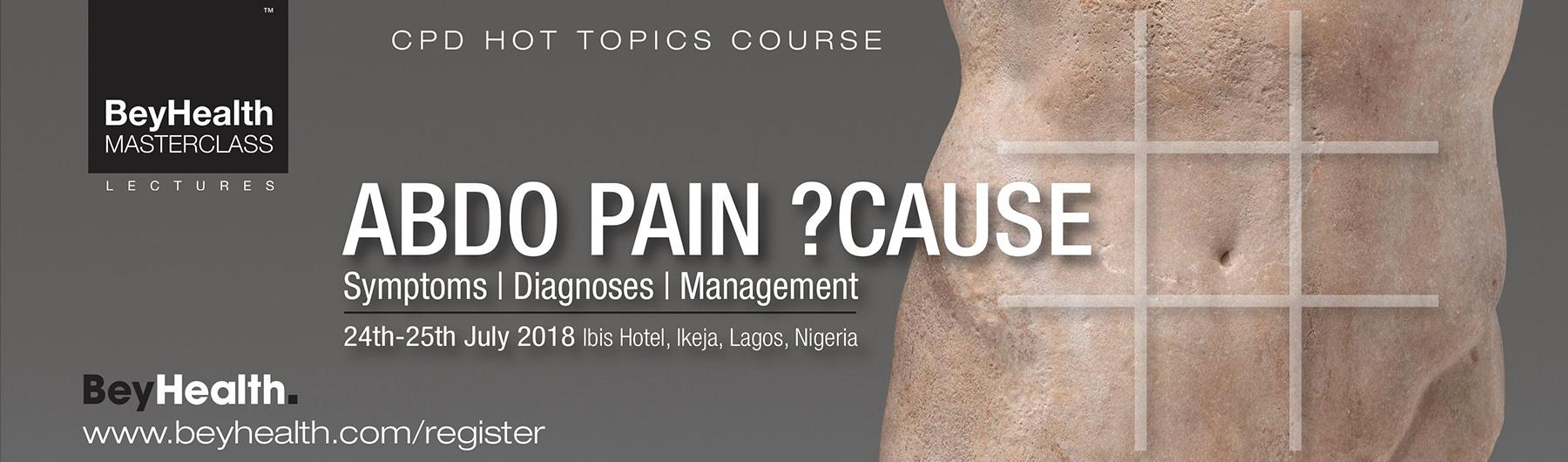Abdominal Pain ?Cause