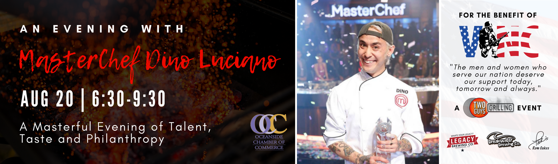 An Evening with MasterChef Dino Luciano