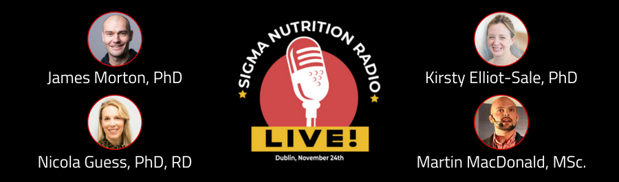 Sigma Nutrition Radio LIVE!