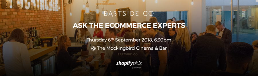 Shopify Meetup Birmingham - 06 September 2018