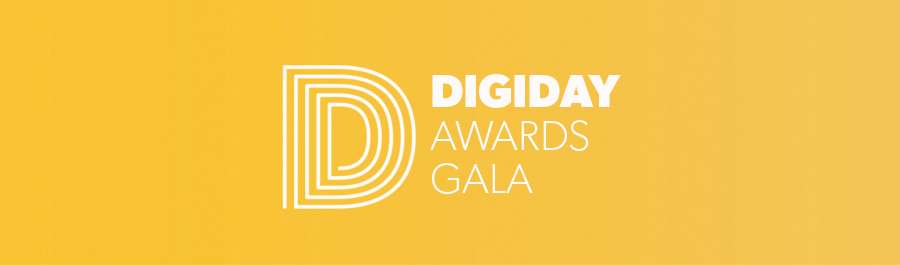 Digiday Awards Gala November 2018
