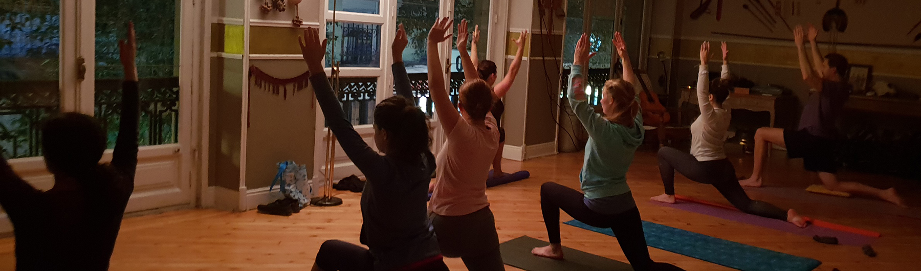 Madrid For Refugees Benefit Yoga and Meditation