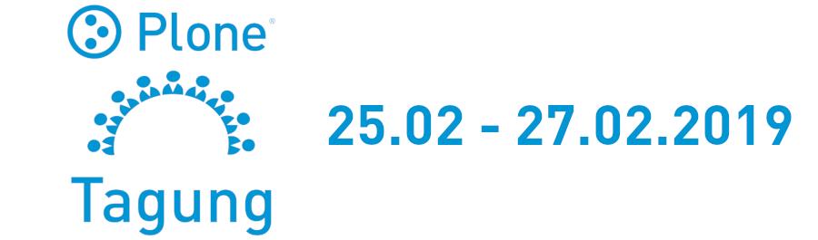 Plone Tagung 2019 - München