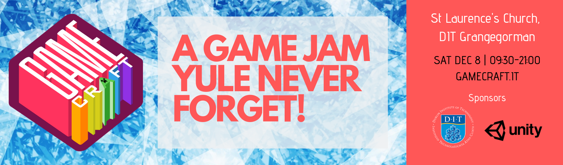 Wrap up the year with a gamejam yule never forget!