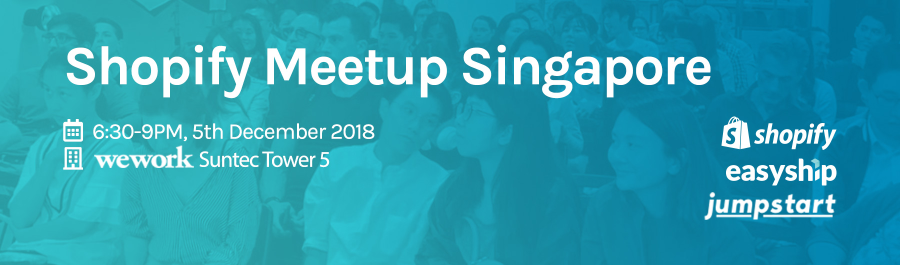 Shopify Meetup Singapore, 5 Dec 2018