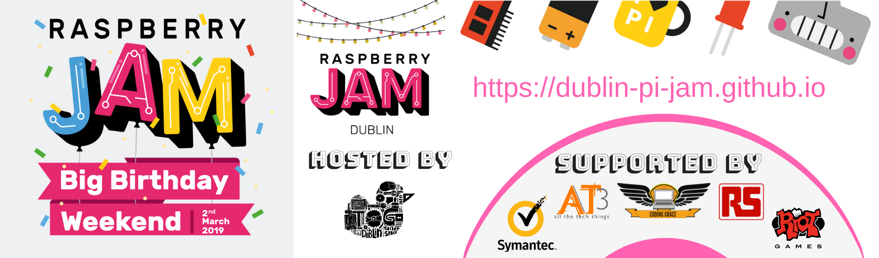 Raspberry Jam Big Birthday Event 2019