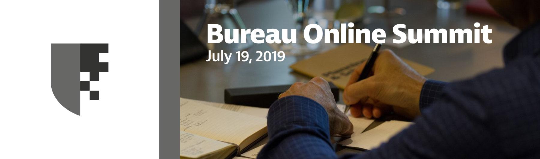 Bureau Online Summit 2019