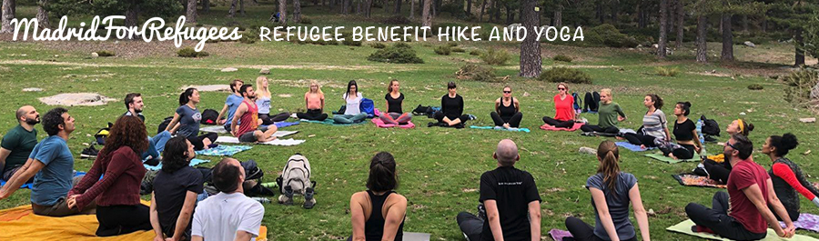 Refugee Benefit Hike and Yoga - 10 March