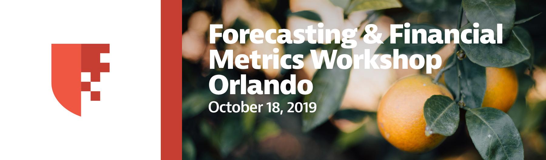 Financial Metrics Workshop Orlando