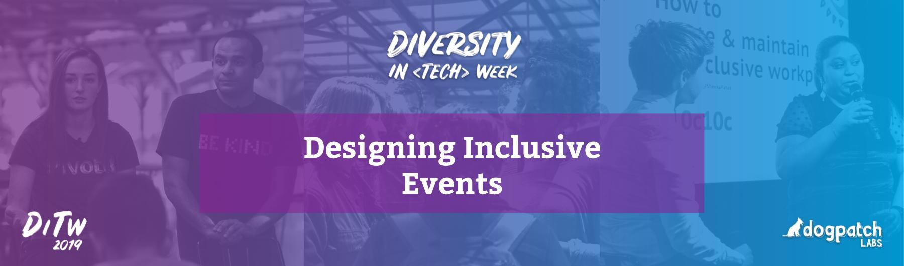 Designing Inclusive Events
