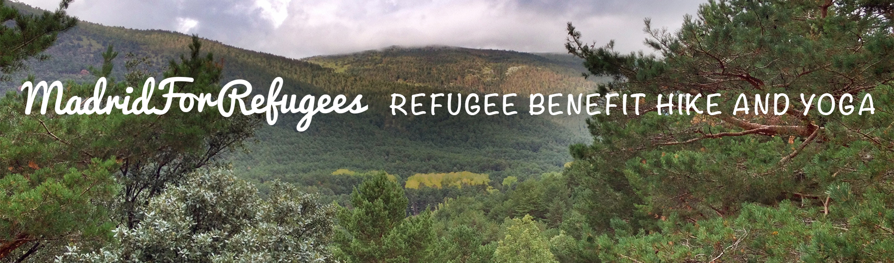 Refugee Benefit Hike and Yoga El Escorial