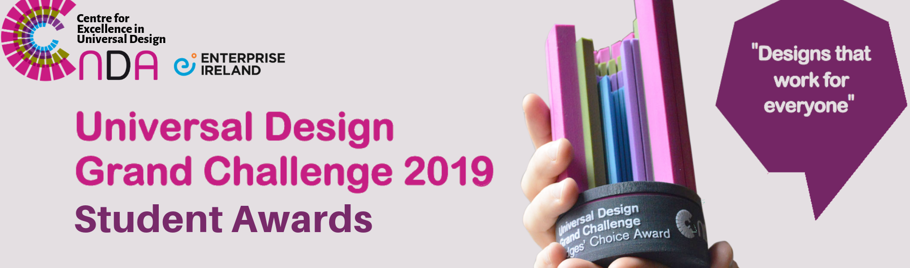 Universal Design Grand Challenge Awards Night 2019